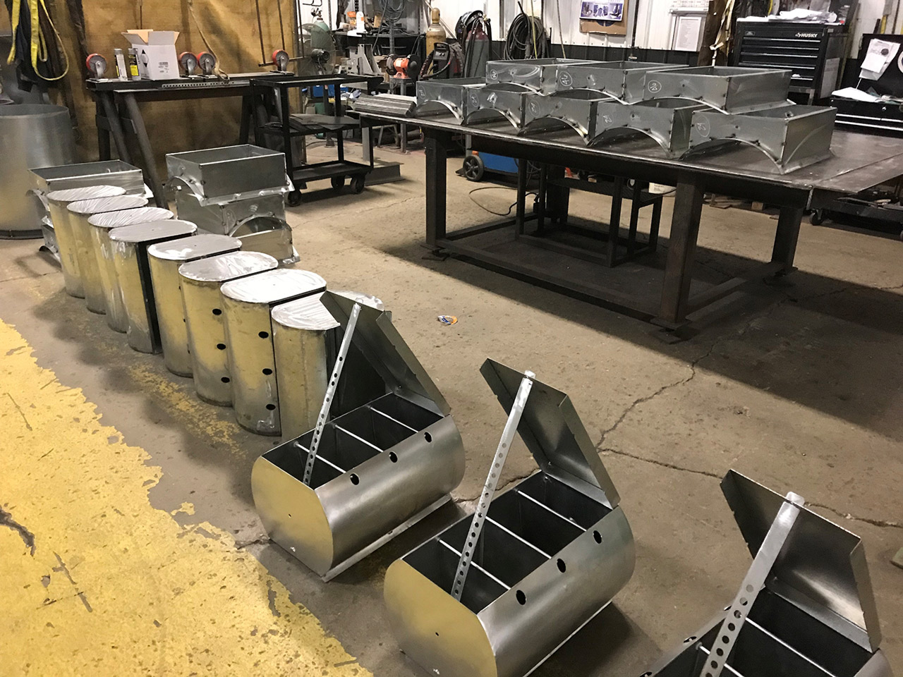 Industrial Ventilation Fabrication