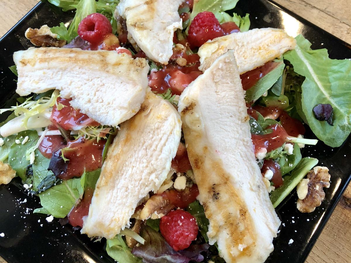 Boom Bistro Chicken Walnut Salad