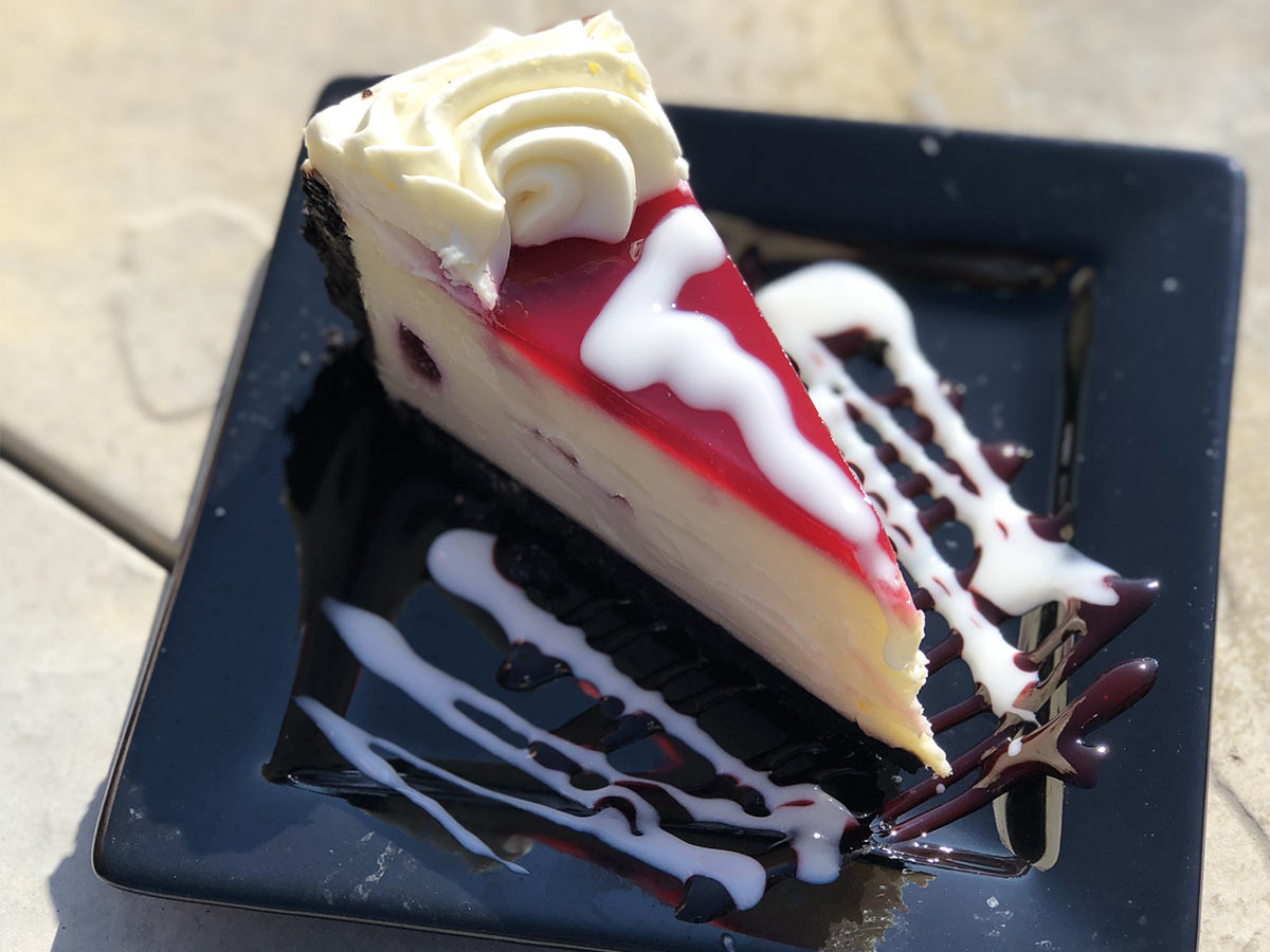 Boom Bistro Fruit Topped Cheesecake