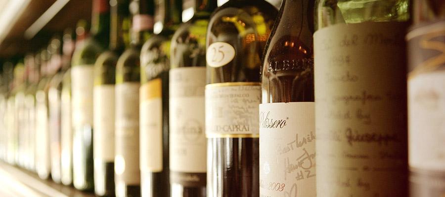 Boom Bistro Wine Selection