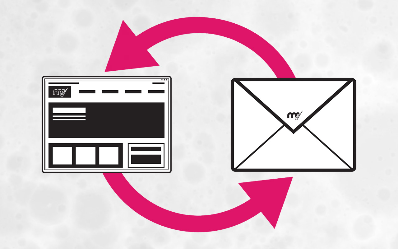 """Featured image for """"The Easy Way Websites And Email Newsletters Can Work Together"""""""