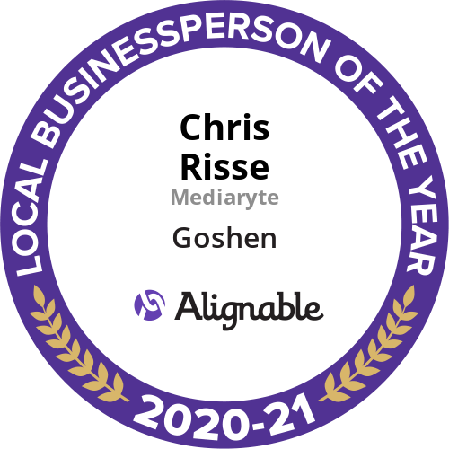 Chris Risse - Small Businessperson of the year - Alignable