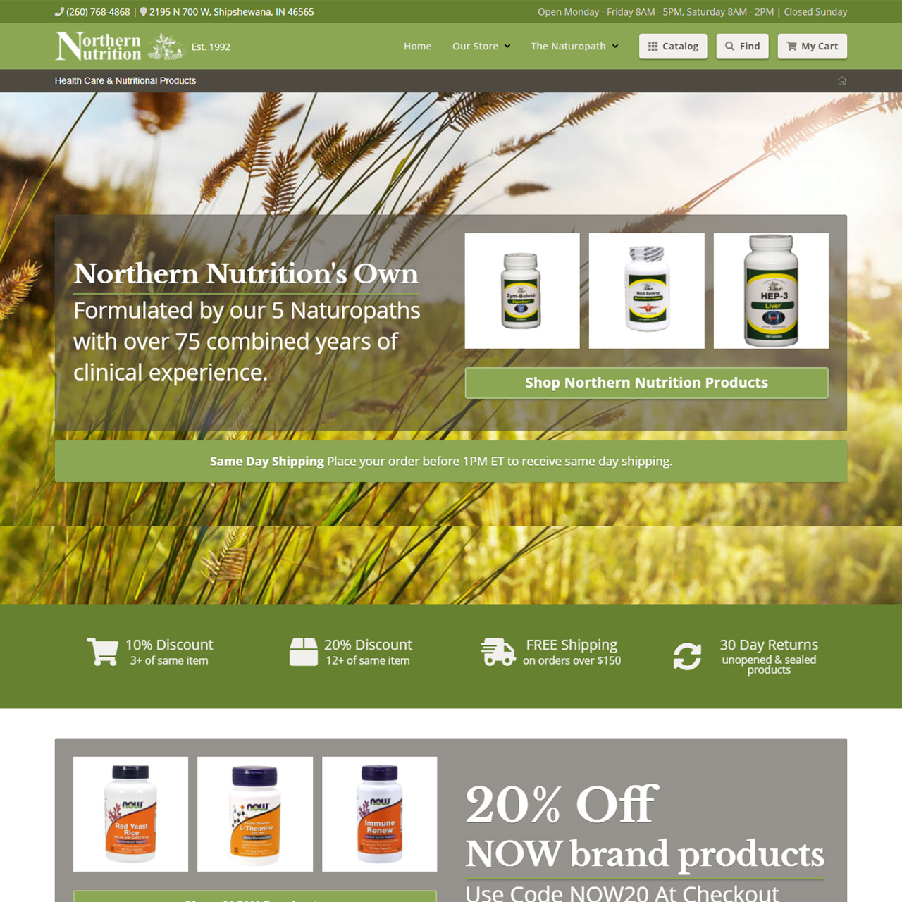 """Featured image for """"Northern Nutrition"""""""